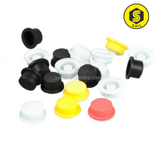 Customized high quality molded silicone rubber protective sleeve/ silicone rubber tube bonded metal part