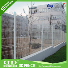 easy assembly cheap private properties curvy welded mesh fence (factoty) manufacture