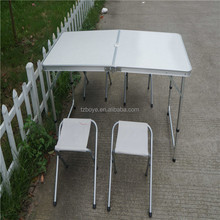 MDF aluminium alloy folding camping table sets dining table