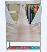 Foldable Fabric Cabinet Wardrobe furniture bedroom