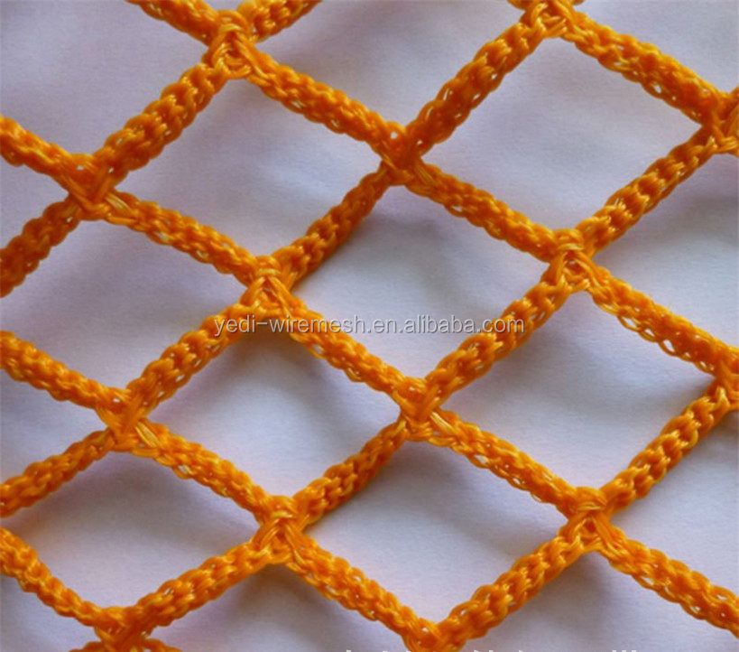 Double knot Double selvage Green nylon Fencing Netting, Sporting Nets