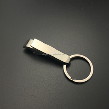 Custom metal bottle opener keychain type promotional gifts