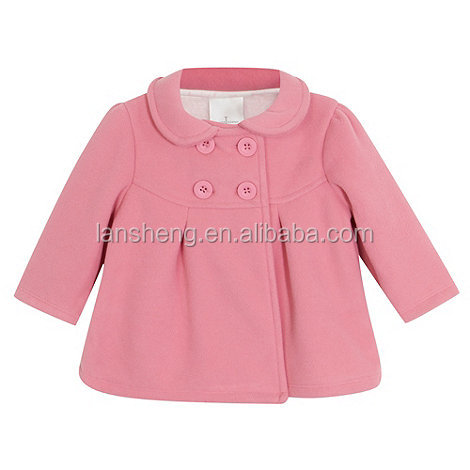 Wholesale Pink Baby Toddler Clothing Coat