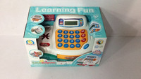 Learning Funny Toys cash register with scanner