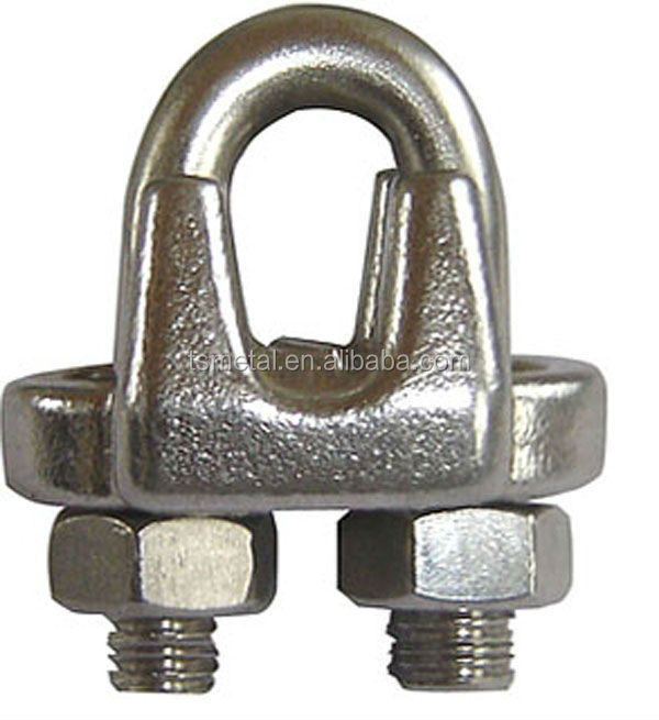 hard rigging 16mm steel fasteners us wire rope clip