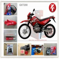 selling QingQi GXT200 motorcycle parts,repuestos y accesories para moto