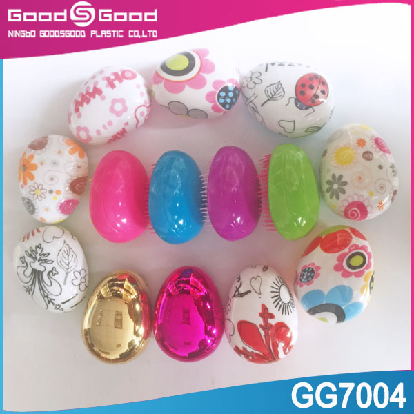 2015 new products ABS plastic material small round hairbrush, kids hairbrush, parts of hairbrush