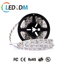 Hongli Brand Led 5050 12V 24V 60Leds/M 300Leds/Roll Magic RGB Led Strip Light