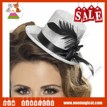 Party small clip cap / mini little top hat HP6134