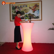 2015 populor led cocktail table for party/event/wedding