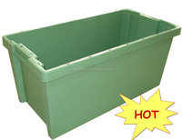 cheap price seafood storage box plastic fish crates