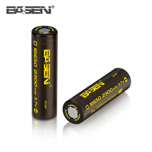High Capacity 18650 Li-ion Battery 3.7v 2300mah For Remote Control With PCM