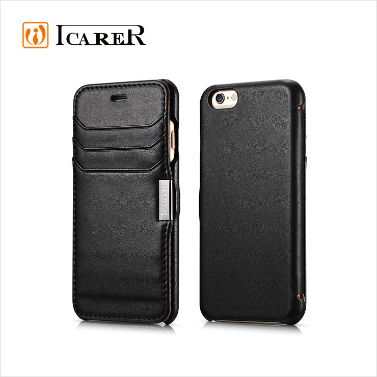 Genuine Leather Wallet Case For Apple iPhone 6 Flip Leather Case For iPhone6