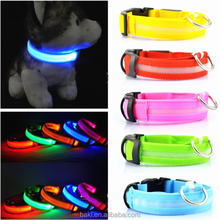 Flashing Safety Comfortable Dog LED Collar and Leashes Pet LED Collar