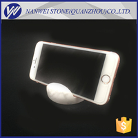 Handmade polished marble and granite mobile phone holder stone crafts