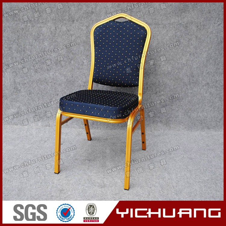 Wholesale stackable aluminum banquet Chairs and tables YC-ZL25