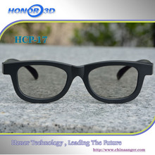 fancy circular polarized 3D passive glasses for the exciting movie