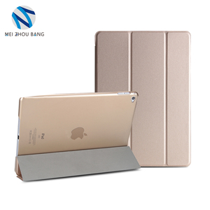 Hot Selling Flip Bracket Stand 3 Fold PU Leather Case for Apple iPad Air 2