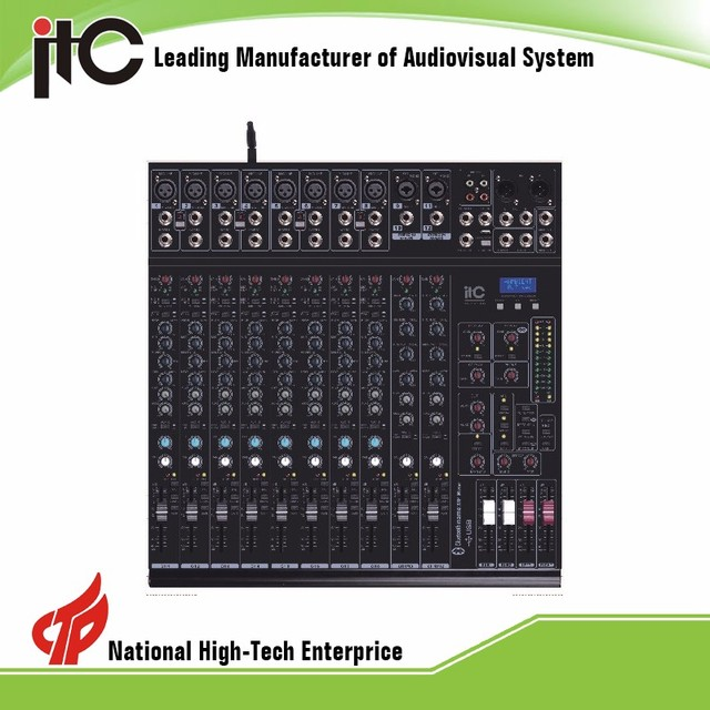 TS-12P-2S 2 Groups USB Record Professional Digital Audio Mixer 8 12 20 Channel