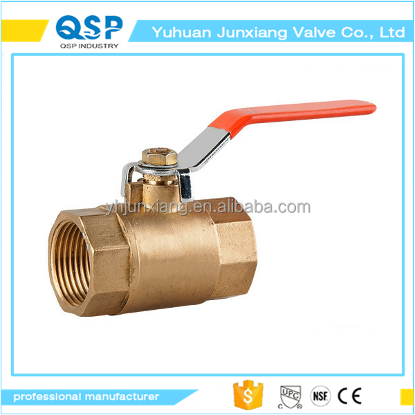 JUNXIANG 1/2 inch 3/4-Inch No Lead Forged Brass Packing Gland Full Port Ball Valve