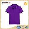 New Design Quick Dry For Men Purple Buttonless Golf Sports Polo Shirt