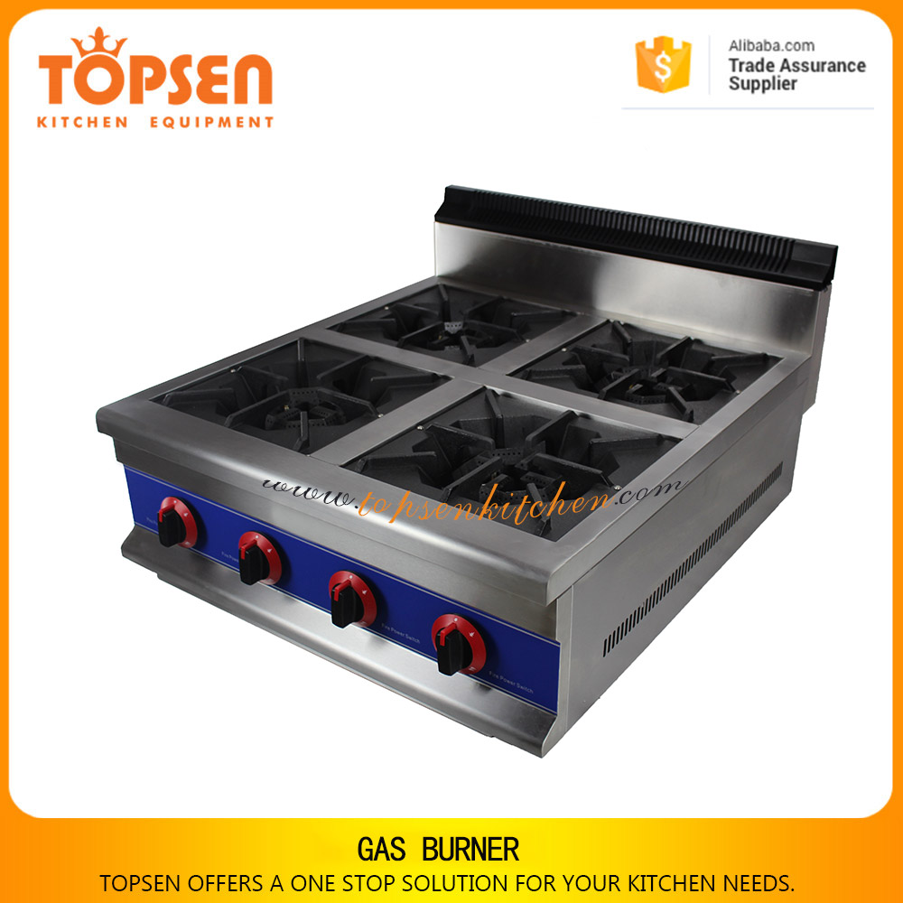 Restaurant gas range, cooking range for burning, gas stove burner plates with cast iron
