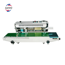 FR-900 Horizontal Continuous Heat Band Sealer/Plastic Film Sealing Machine