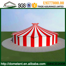 Guangzhou Event Tent Used 30 Meters Stripes Color Insulated Canvas Giant Circus Tents For Sale