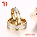 trending best selling products stainless steel gold brush couple bands alli express jewellery wedding diamond engagement ring