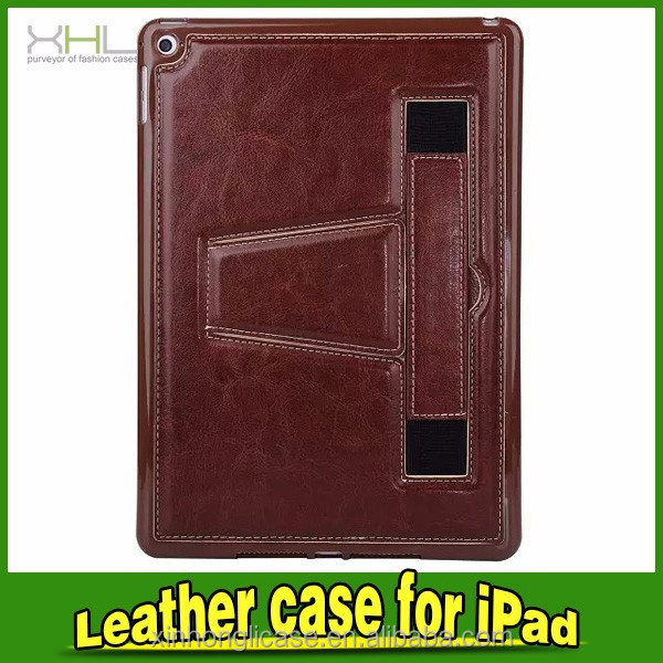 For iPad2/3/4/5 Case with kickstand leather case