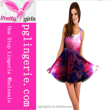 High quality Latest Sweet Short Skater Dress For Young outings