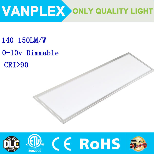 UL DLC LM79 50w 60w 70w LED Recessed Ceiling Panel Lights Bulb Slim Lamp Fixture