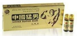 Energy drink -china super man