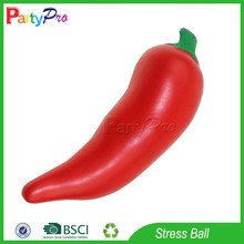 Partypro New Products on China Market 2015 Wholesale PU Hot Pepper Reliver Stress Ball