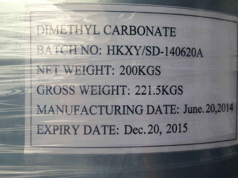 China best Dimethyl Carbonate(DMC) CAS:616-38-6