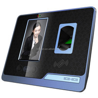 network face and facial biometrics touch screen rfid time and attendance terminal access control
