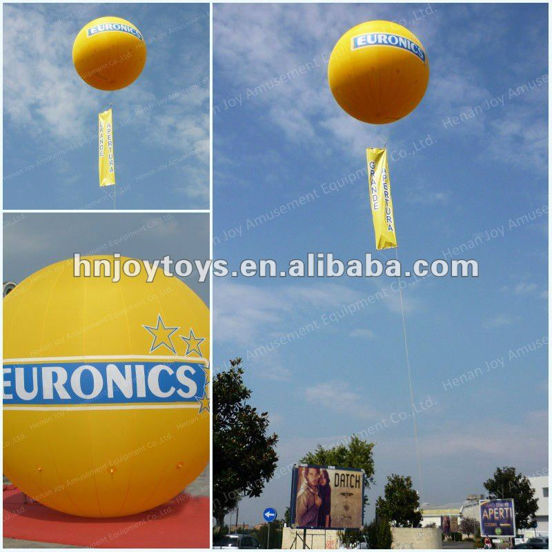 Attractive advertising pvc helium baloons