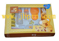 paper baby feeding bottle packaging box with window
