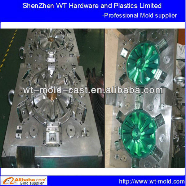 plastic injection tooling mold for car wheel cover