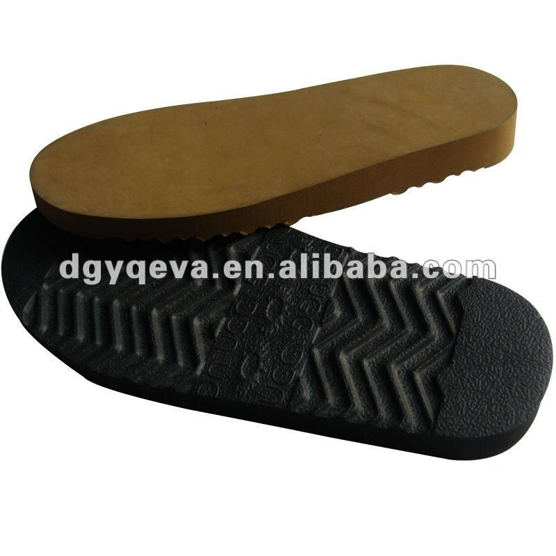 EVA rubber sole for sheepskin footwear