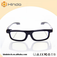 Clip on RealD Circular Polarized 3D Glasses for Home 3D TV and Real D Movie Theater