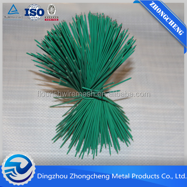 Straight Cutting Wire Bright Soft Zinc Coated Straight Cut Iron Wire Tie Wire