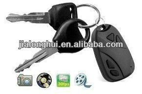 Factory supply 808 Keychain Camera Wireless Mini DVR Hidden Camera