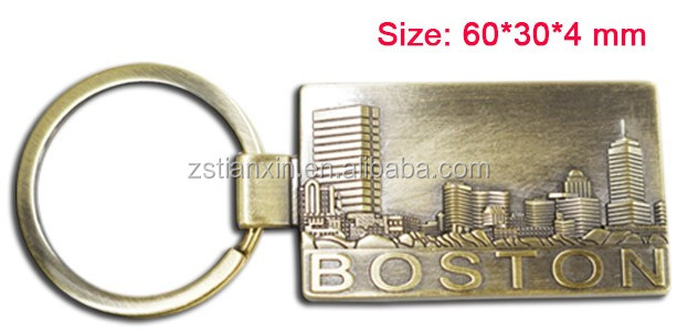 I Heart Love USA Seattle Souvenir Metal Keychain