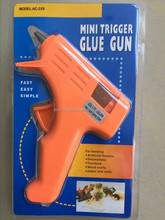 practical mini hot-melt glue gun use with silicone