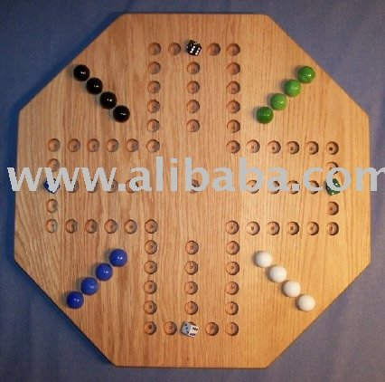 Wooden Aggravation Game Board