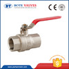 good market extended butt weld brass ball valve with indicator