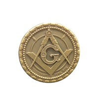 High Quality Car Badge Custom Round Shape Masonic Car Emblem