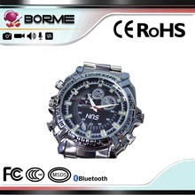 Hot sell HD1080P waterproof wrist watch voice video camcorder with ir night vision in Alibaba