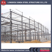 factory supply sandwich panel wall steel structure two story building